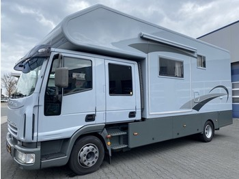 Iveco 100E18D Camper/Wohnmobil/Campeur/Motorsport Full Option! - krovininis mikroautobusas