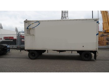 Ligthart 2 AXLE CLOSED BOX TRAILER - furgonas priekaba