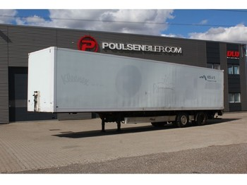 Furgonas puspriekabė Fliegl 13,6 meter 2-axle city box