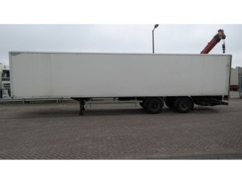 Furgonas puspriekabė HTF 2 AXLE CLOSED BOX TRAILER