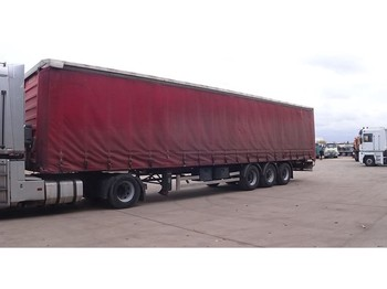 Tentinis puspriekabė General Trailer TX34CW (SMB axles)