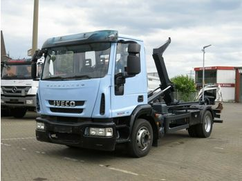 Iveco EuroCargo ML 120 E 25 Abrollkipper Hiab City-Lif  - hook-lift sunkvežimis
