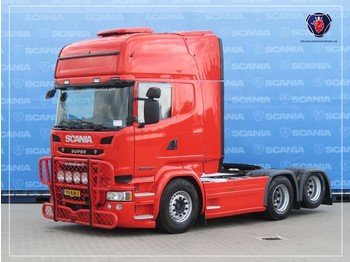 Scania R 450 LA6X2MNB | SCR ONLY | DIFF | SLIDING DISH | ROOF AIRCO | MICROWAVE - vilkikas